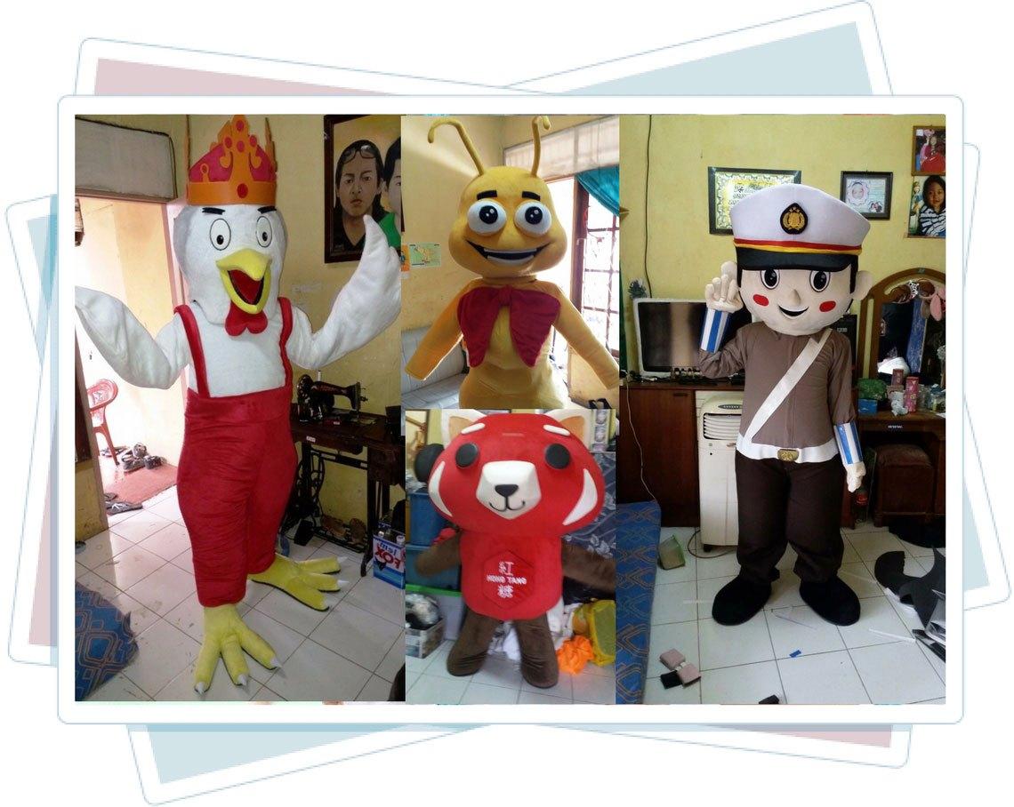 produk kostum maskot perusahaan karya tiara maskot jakarta