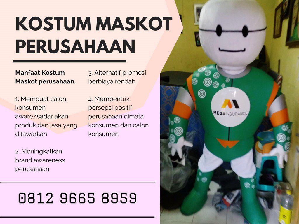 kostum maskot perusahaan