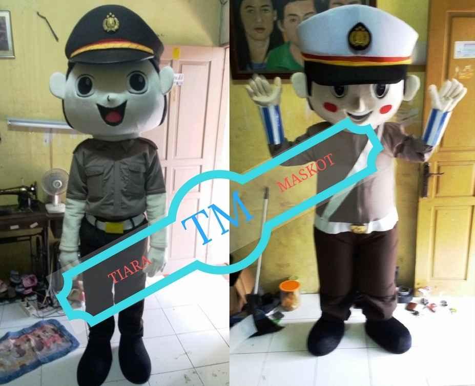 contoh kostum maskot polisi