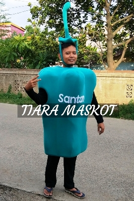 foto Kostum maskot sayur