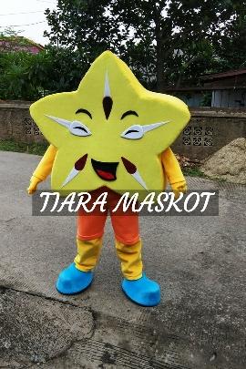 kostum maskot Taman Buah Mekarsari Belimbing