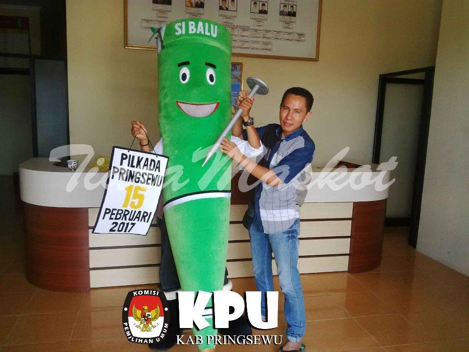 Maskot KPU kabupaten Pringsewu