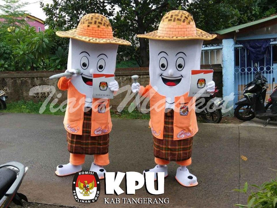 Maskot KPU kabupaten Tangerang