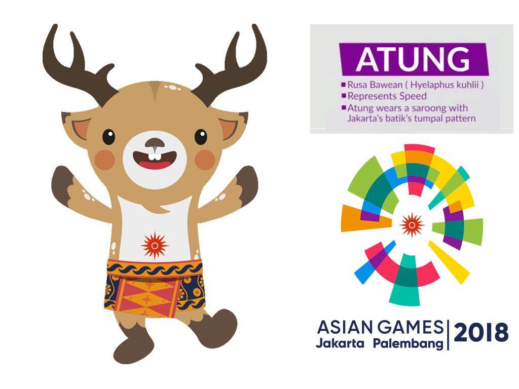 Atung Maskot Asian Games 2018by Tiara Maskot