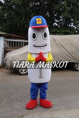 Boneka maskot PLN bili