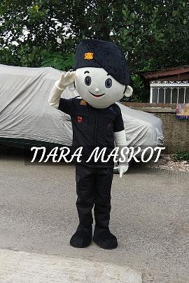 Maskot Polisi Brimob polda aceh