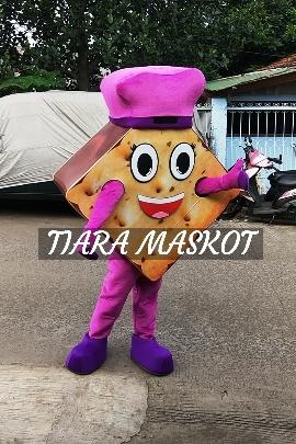 Contoh Maskot Promosi Produk biskies