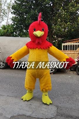 Desain Maskot Perusahaan Karakter ayam