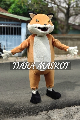 Contoh kostum maskot hewan rubah
