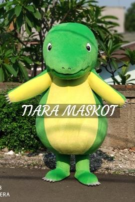 badut maskot dinosaurus lucu